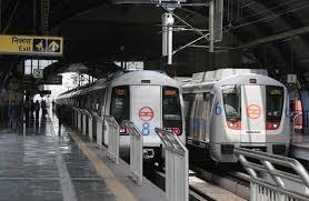 中心即将宣布在德里地铁票价为学生 老年人的折扣
